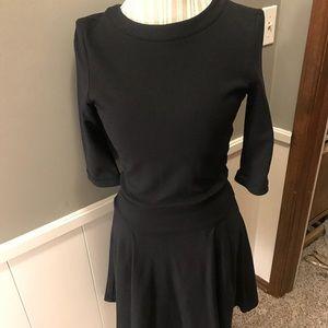 Black Fit and Flare dress, Sz medium, NWOT